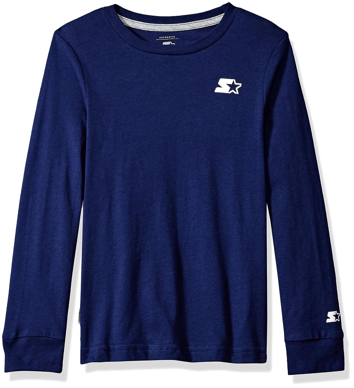Starter Boys' Long Sleeve Back-Logo T-Shirt,  Exclusive S18SBT19