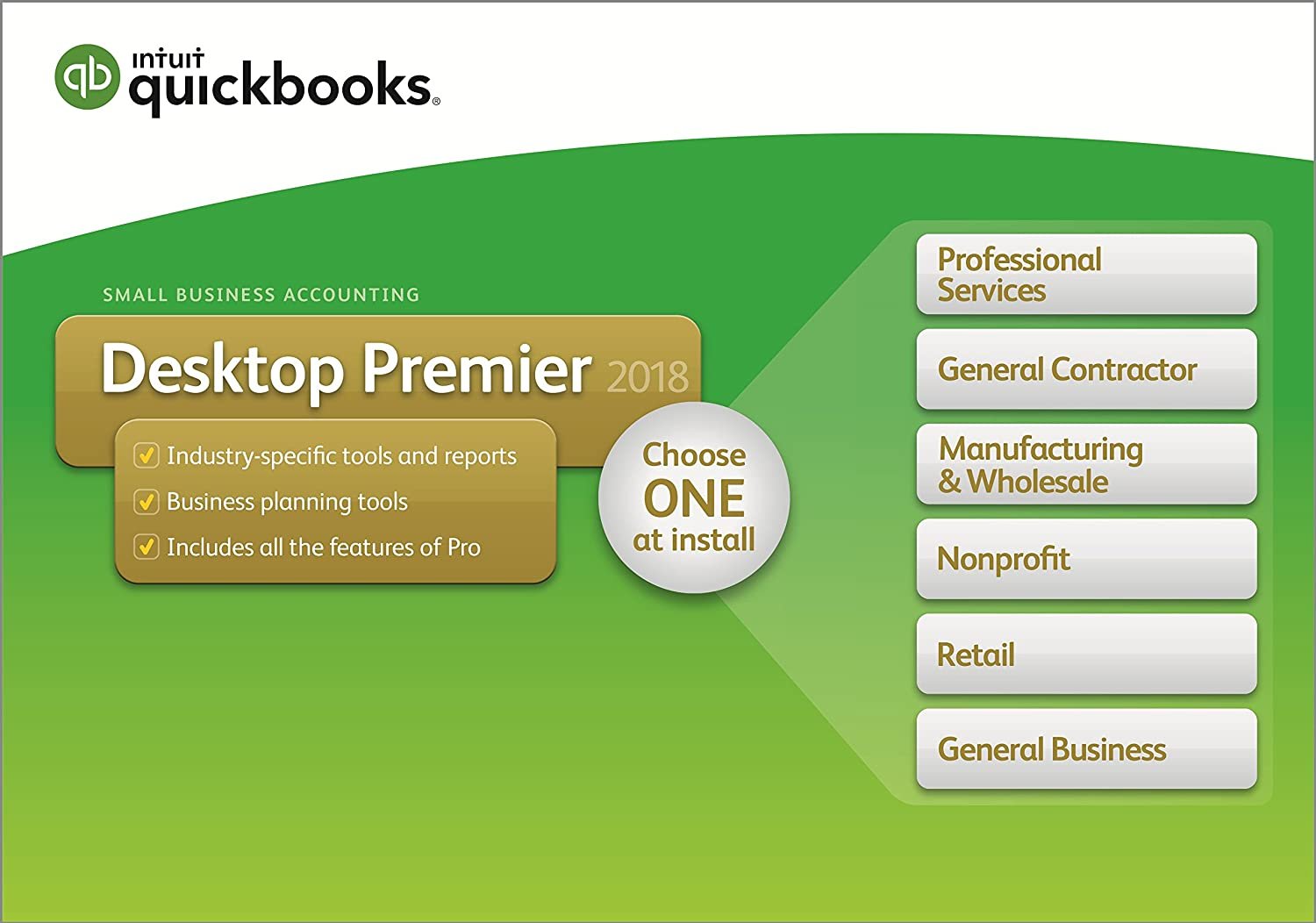 QuickBooks Desktop Premier 2018 4-User