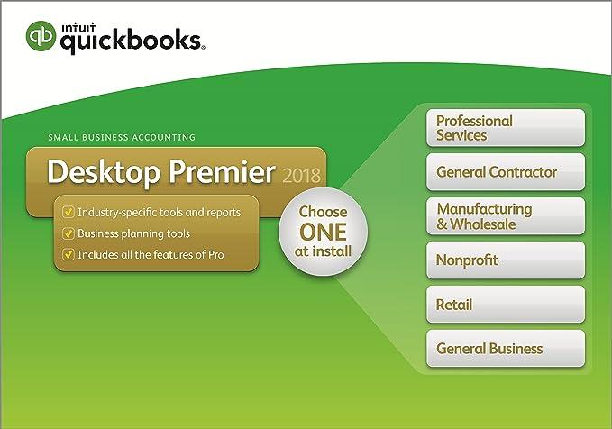 amazon com quickbooks desktop premier 2018 5 user rh amazon com QuickBooks Instruction Manual QuickBooks For Dummies