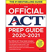 The Official ACT Prep Guide 2020 - 2021, (Book + 5 Practice Tests + Bonus Online Content)