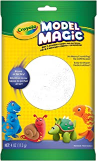 product image for Crayola Model Magic White, Modeling Clay Alternative, At Home Crafts for Kids, 4 oz, Model Number: 57-4401