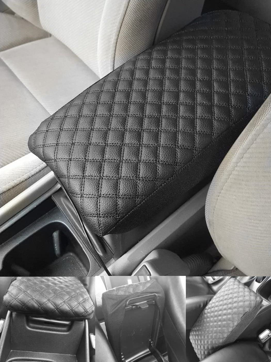 Fit for Chrysler 300 300C 2004-2010 Center Console Lid Decor Armrest Cover