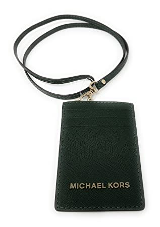 0a186a127739 Amazon.com: Michael Kors Jet Set Travel Lanyard ID Card Case in Moss:  AAfashiondistrict