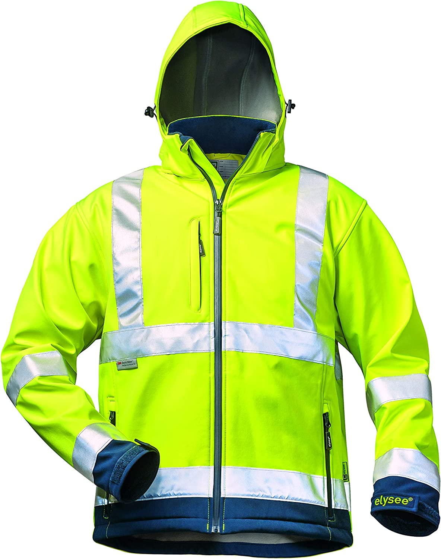 Elysee Warnschutzjacke Softshelljacke Jacke EN471 gelb orange OVP Gr S-XXXL