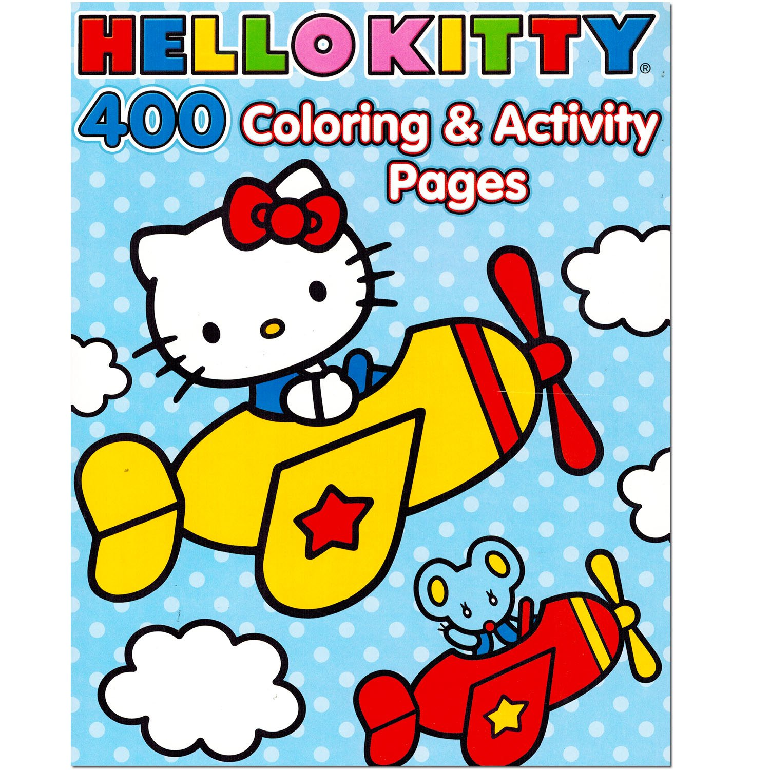 Hello Kitty Kids Art Coloring Book 400 Pages Classic Brand