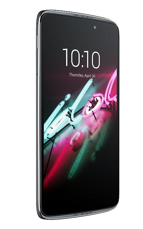 Alcatel 6045Y-2AALWE7 Onetouch Idol 3 Smartphone dunkel grau