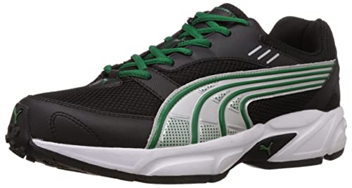 Image Unavailable. Image not available for. Colour  Puma Men s Pluto DP  Black-Amazon-Silver Running Shoes - 10 UK India d4686f809