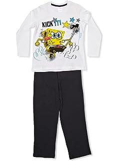 cc651648b4 Bob Esponja - Pijama para Niños - Spongebob Squarepants  Amazon.es ...