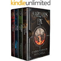 The Magelands Epic (Books 1-4) An epic fantasy boxed set book cover