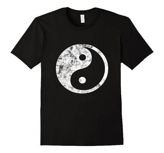 Amazon Yin Yang T Shirt Fun Yin Yang Symbol Yoga Tao Tee Clothing