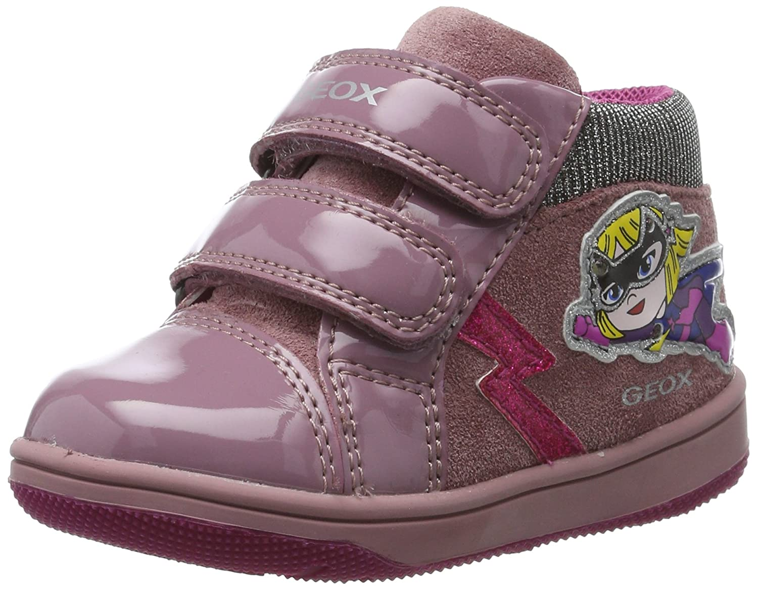 Geox B New Flick E, Sneakers Basses bébé Fille B741HE022HH