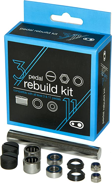 Egg Beater and Candy 11 Crank Brothers Pedal Refresh Kit