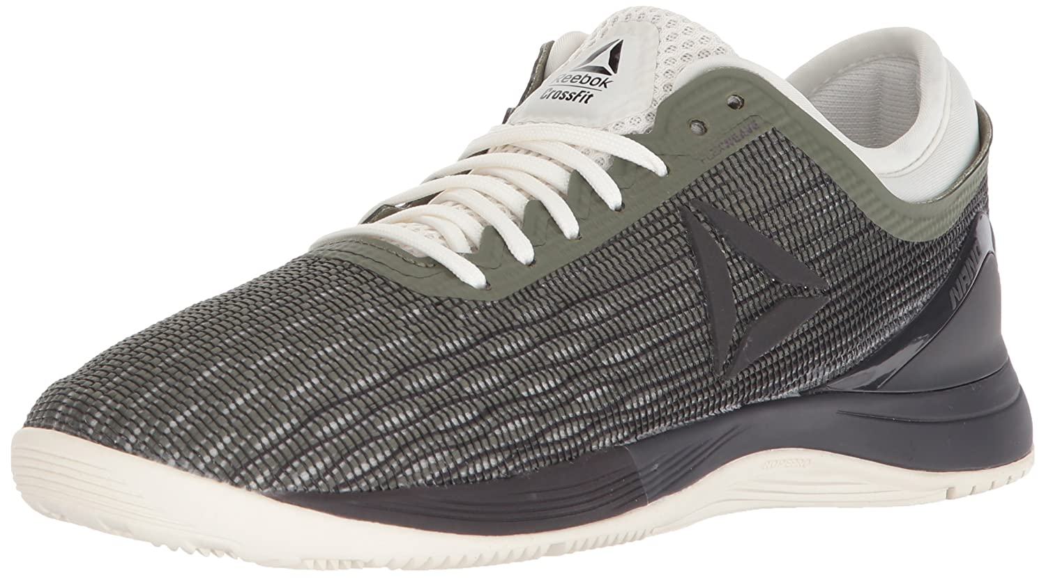 Reebok Women's Crossfit Nano 8.0 Flexweave Cross Trainer B076HVY1HL 8.5 B(M) US|Hunter Green/Coal/Chalk