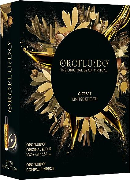 Orofluido Pack Aceite Elixir 100 ML y Espejo Compacto de Lujo: Amazon.es: Belleza