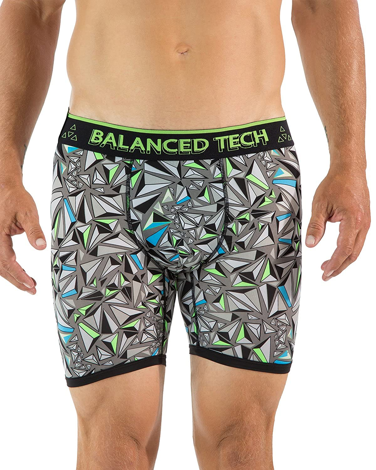 Balanced Tech Men's Active Sport Performance Boxer Briefs