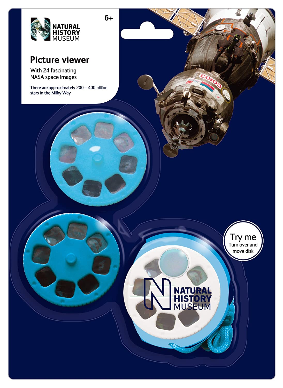 Natural History Museum Picture Viewer with 24 Space NASA Pictures