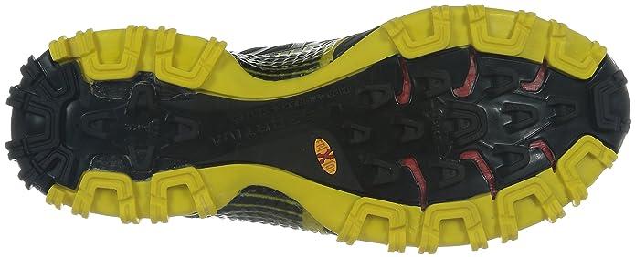 Amazon.com   La Sportiva Bushido Trail Running Shoes UK 9.5 Black Yellow   Running