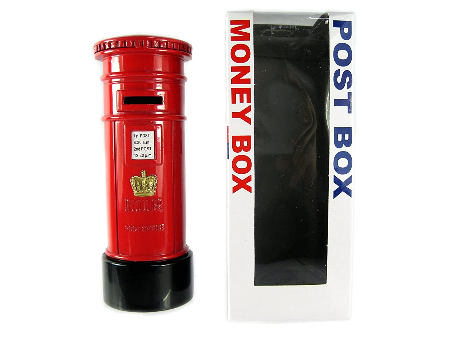 London Red Post Box Money Box Made of Die Cast Metal London Collectable Souvenir