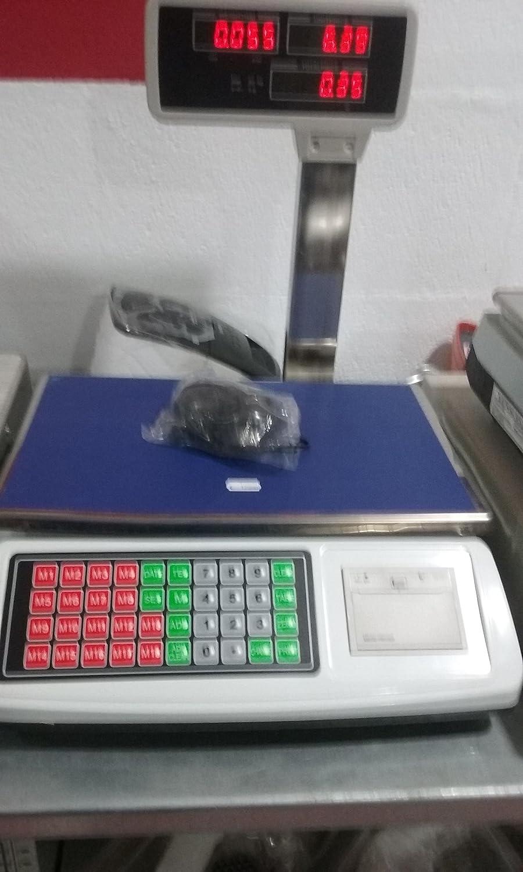 balanza bascula con impresora de ticket y torre hasta 50kg: Amazon.es: Industria, empresas y ciencia