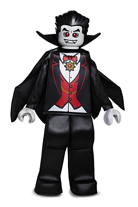 LEGO Vampire Prestige Costume, Black, Large (10-12)