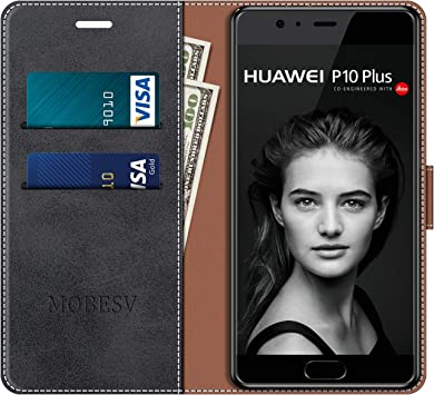 MOBESV Funda para Huawei P10 Plus, Funda Libro Huawei P10 Plus ...
