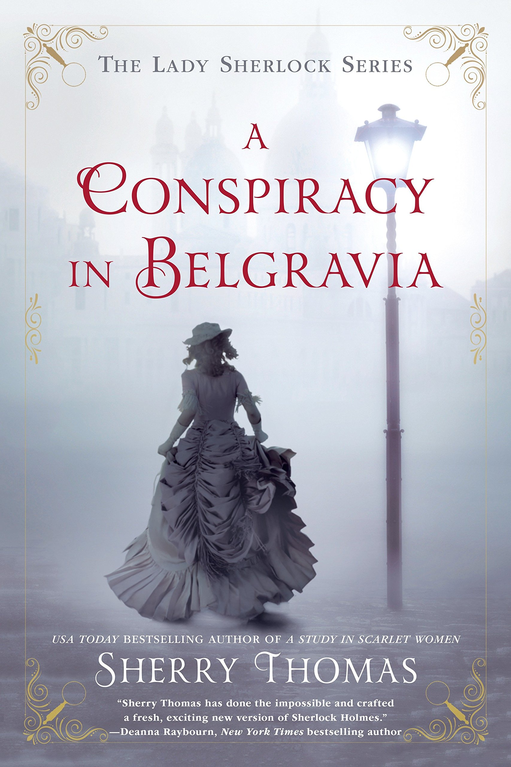 Image result for A Conspiracy in Belgravia by Sherry Thomas