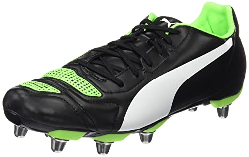 promo code a343c ba6f1 Puma Mens Evopower 4.2 Rugby H8 Boots, Black White-Green Gecko 07, ...
