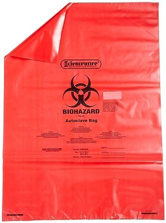 Amazon.com: bel-art f13164 – 2535 Rojo Biohazard eliminación ...