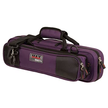 Protec Flute (B or C Foot) MAX Case - Purple, Model MX308PR