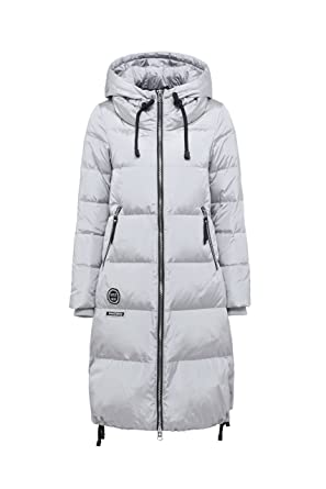 96c12745823 Bosideng Women Hooded Long Down Coat - Cosy and Protective - Perfect for  Chilly Days(