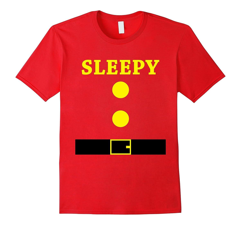 Sleep Halloween Costume Bashful Team Christmas T-Shirt-FL