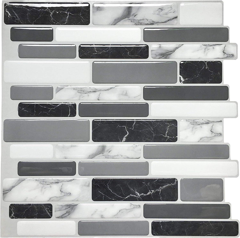 - Art3d Peel And Stick Wall Tile For Kitchen Backsplash, 12