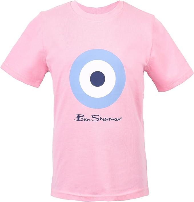 Ben Sherman - Camiseta para niño Azul Norse Azul 8-9 Años: Amazon.es: Ropa y accesorios