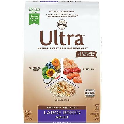 Nutro Ultra Dog Food >> Amazon Com Nutro Ultra Large Breed Adult Dry Dog Food 1 30 Pounds
