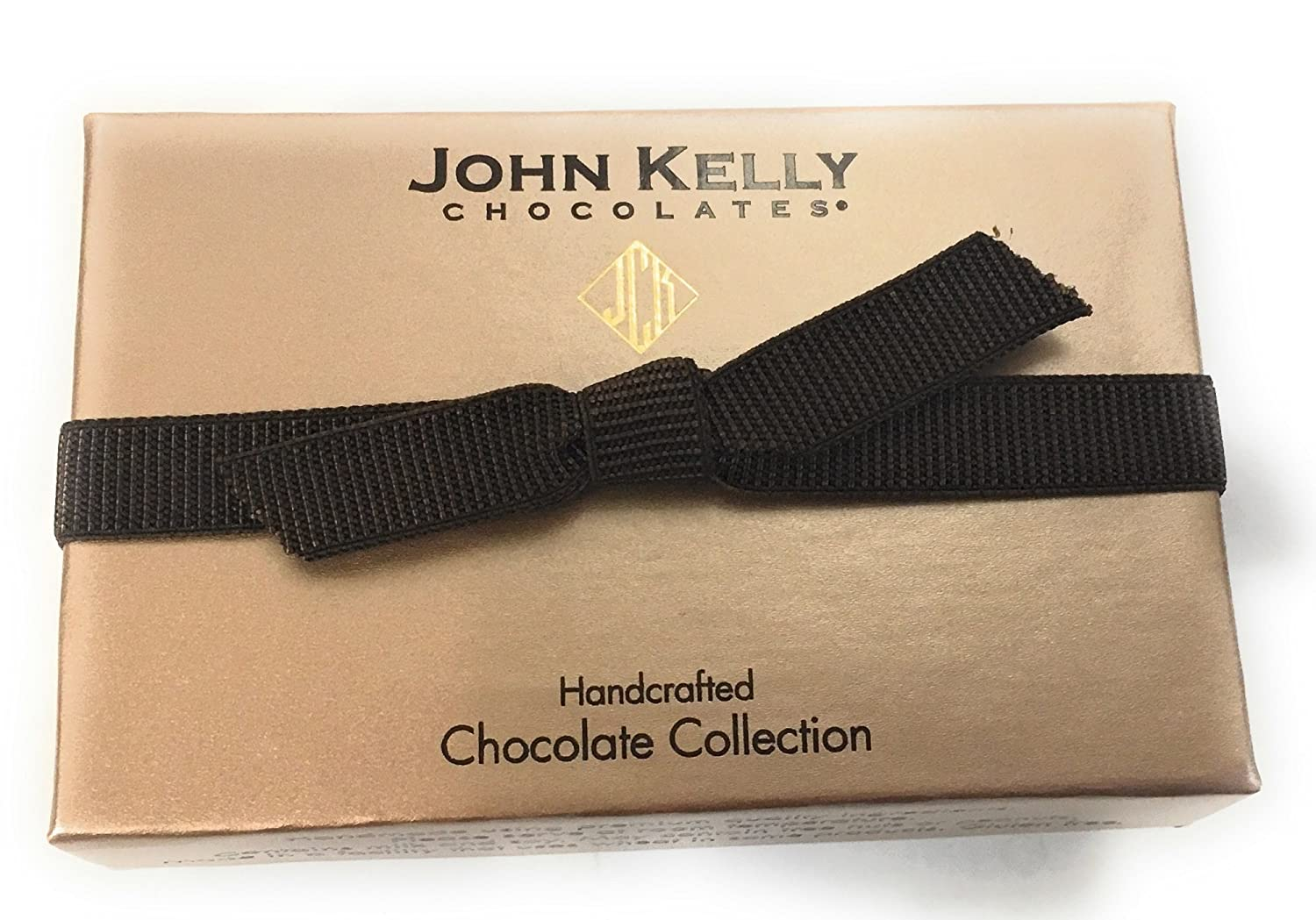 Amazon.com : John Kelly Chocolates Two Piece Truffle Fudge ...