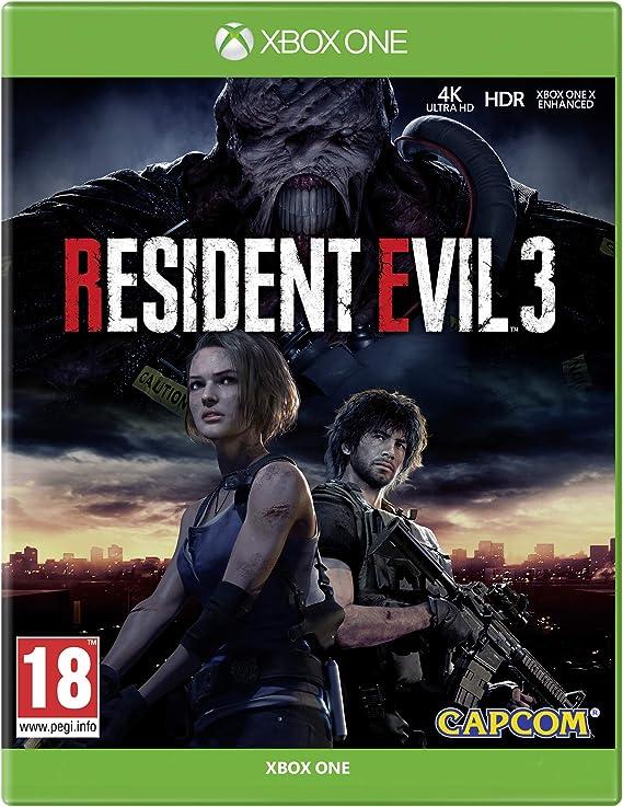 Resident Evil 3 - Xbox One [Importación inglesa]: Amazon.es: Videojuegos