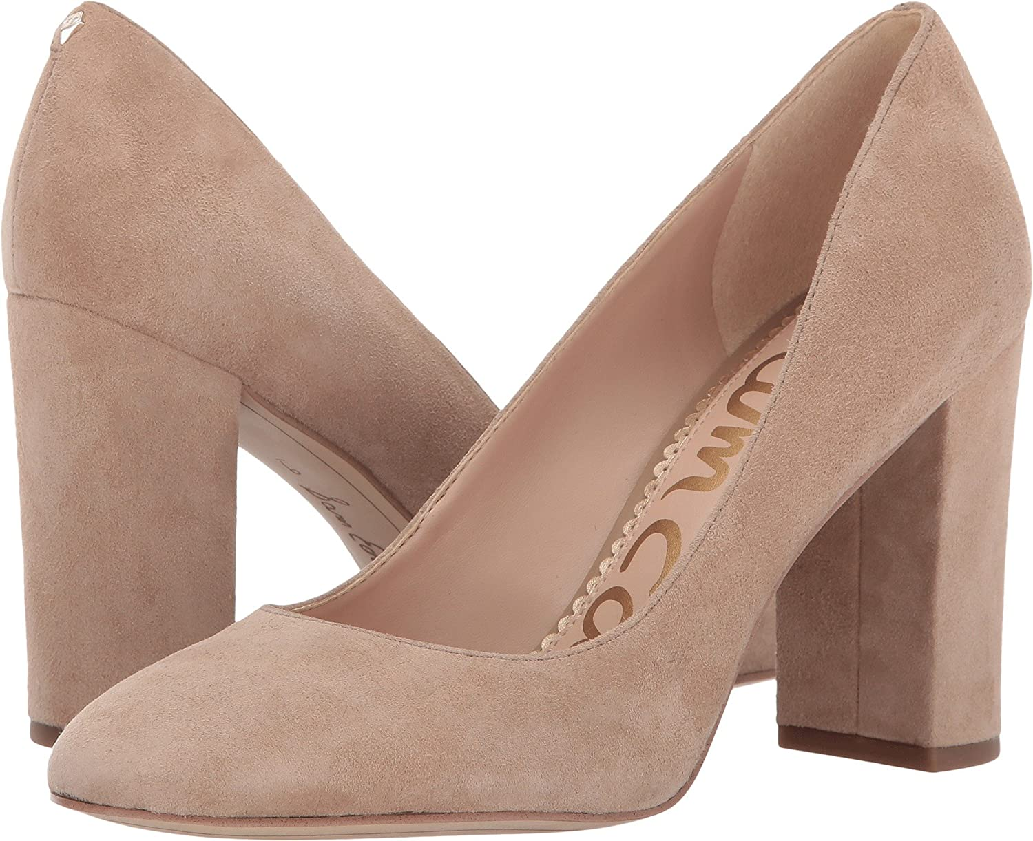 Oatmeal Kid Suede Leather Sam Edelman Women's Stillson Pumps