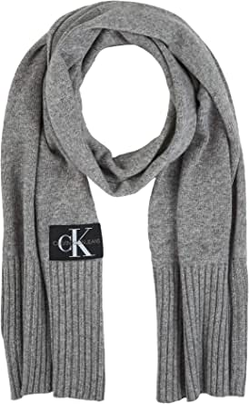 Tommy Hilfiger J Basic Men Knitted Scarf Bufanda para Hombre