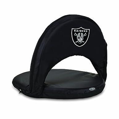 Phenomenal Men Nfl Oakland Raiders Portable Ventura Reclining Seat Machost Co Dining Chair Design Ideas Machostcouk