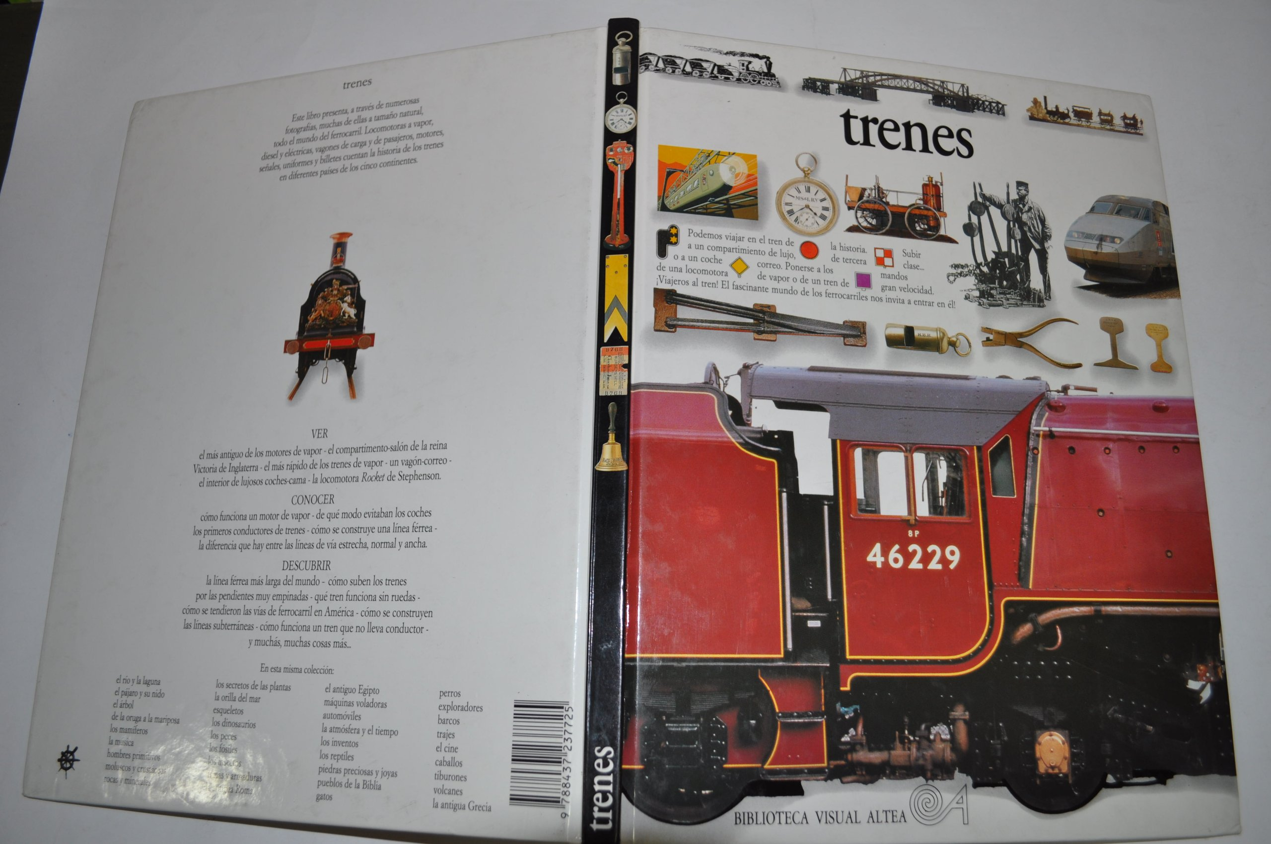 Trenes/Trains (Eyewitness Series in Spanish) (Spanish Edition) (Spanish) Hardcover – December 1, 1995