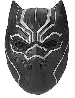 ed2427de morningsilkwig Halloween Kids Black Panther Mask Hero Children ...
