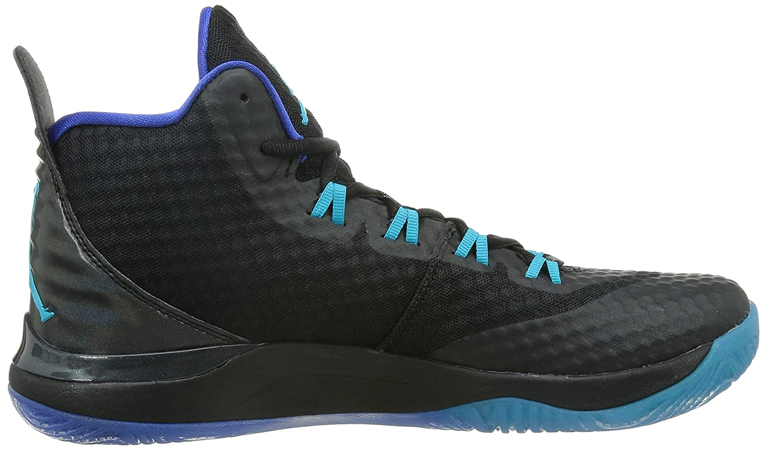 Jordan Super.Fly 3 Pro Synthetic Basketball Shoe Black/Trqs Blue/Gm Ryl/ White 8.5 D(M) US: Buy Online at Low Prices in India - Amazon.in