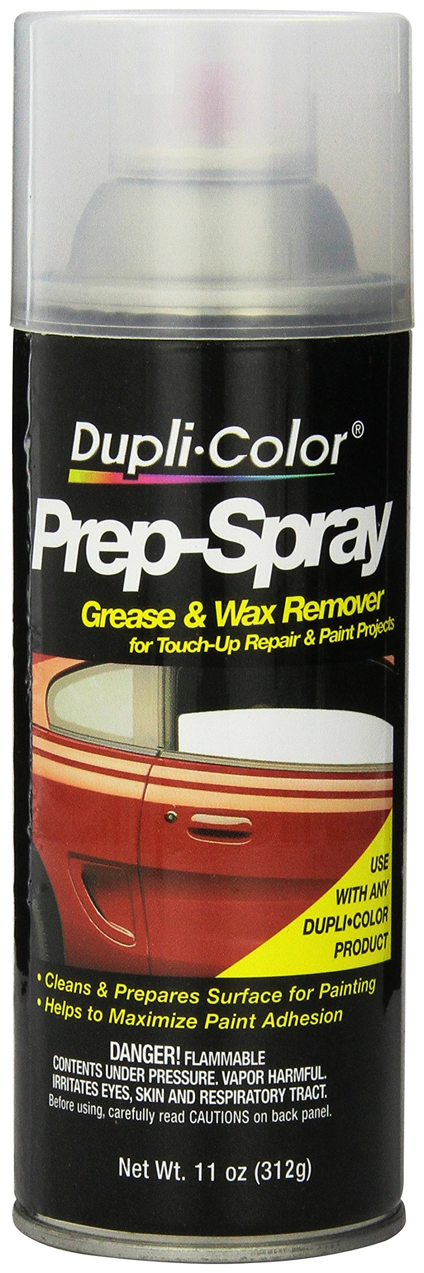 Dupli-Color (PS100-6 PK Grease and Wax Remover - 11 oz. Aerosol, (Case of 6)