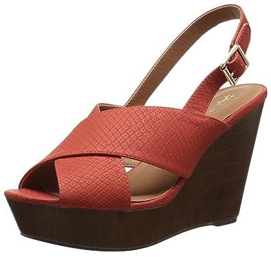 091dd7796b71 Qupid Women s Gimmick-30A Wedge Sandal