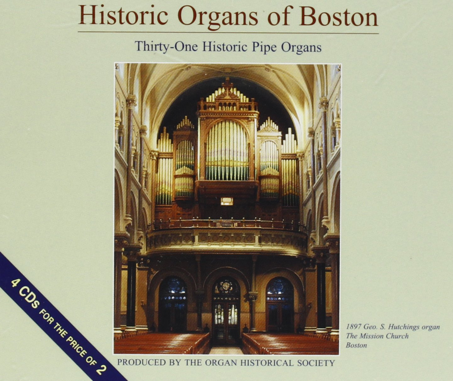 Historic Organs of Boston by Bauer