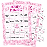 It's a Girl Baby Shower Bingo Game - 24 Guests