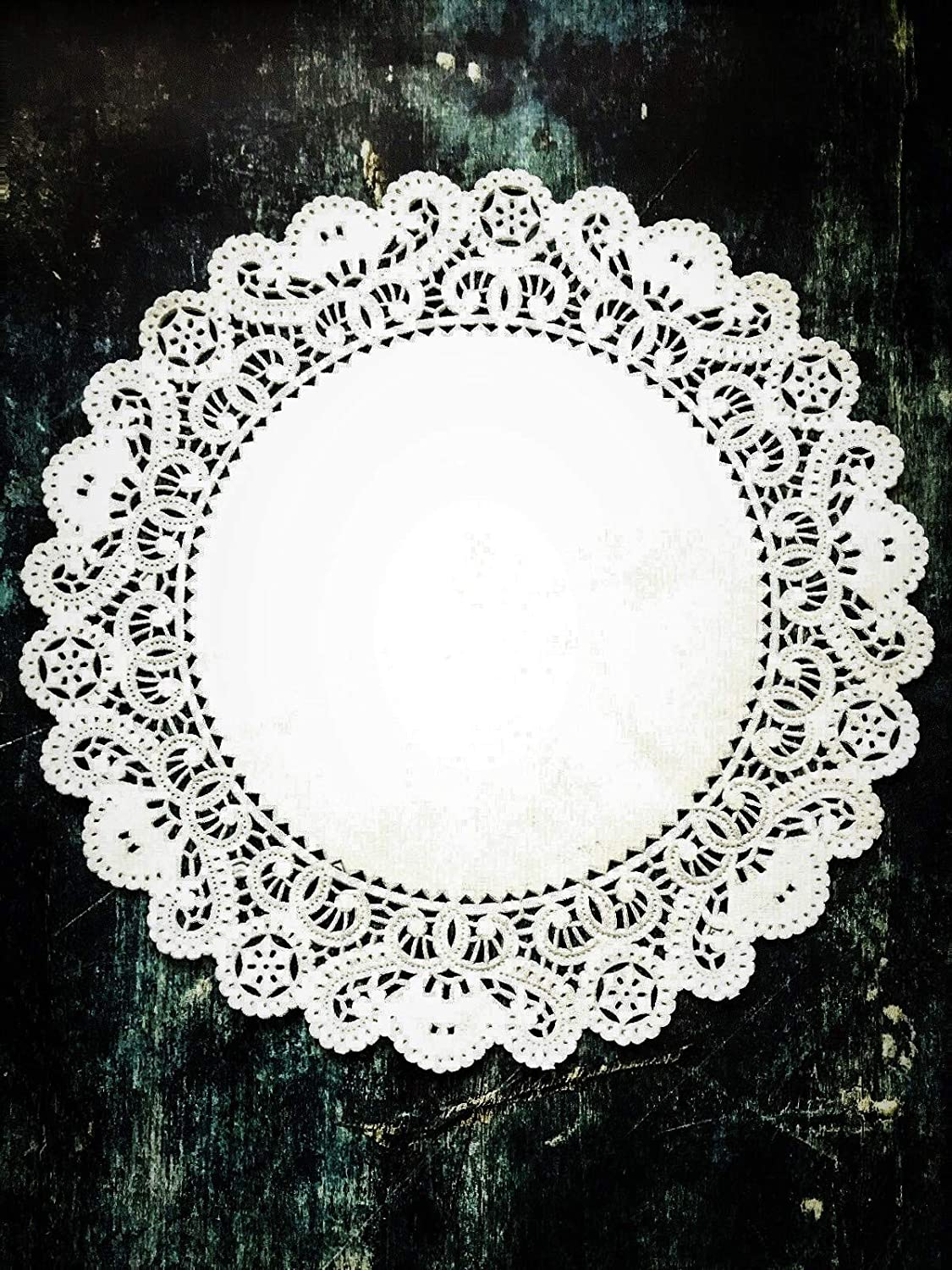 Sweet Creations 72 Count Round Lace Paper Doilies Assorted Sizes