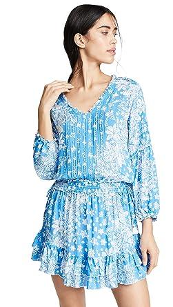 Poupette St Barth Women s Ilona Long Sleeve Mini Dress afb0b7d9db