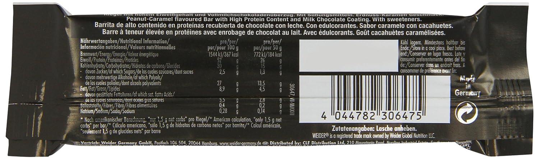 Weider 52% Low Carb Protein Bar 24 barritas x 50 gr: Amazon.es: Alimentación y bebidas