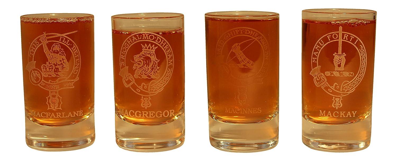 Amazon.com: Collins Glencairn Clan Crest vidrio DRAM Tot ...